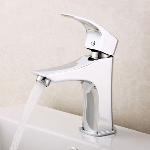 One Hole Single Faucets Bathroom Ceramic Spool