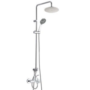 Chrome Finish Top Rated Shower Faucets Refined Brass