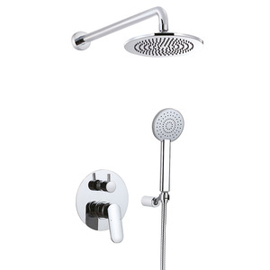 Silver Inside Shower Faucets Reviews Without Spout