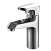 Shiny Electroplated Single Lever Bathroom Faucets