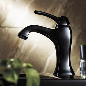 Supeiror Black Bathroom Faucets Brass Material