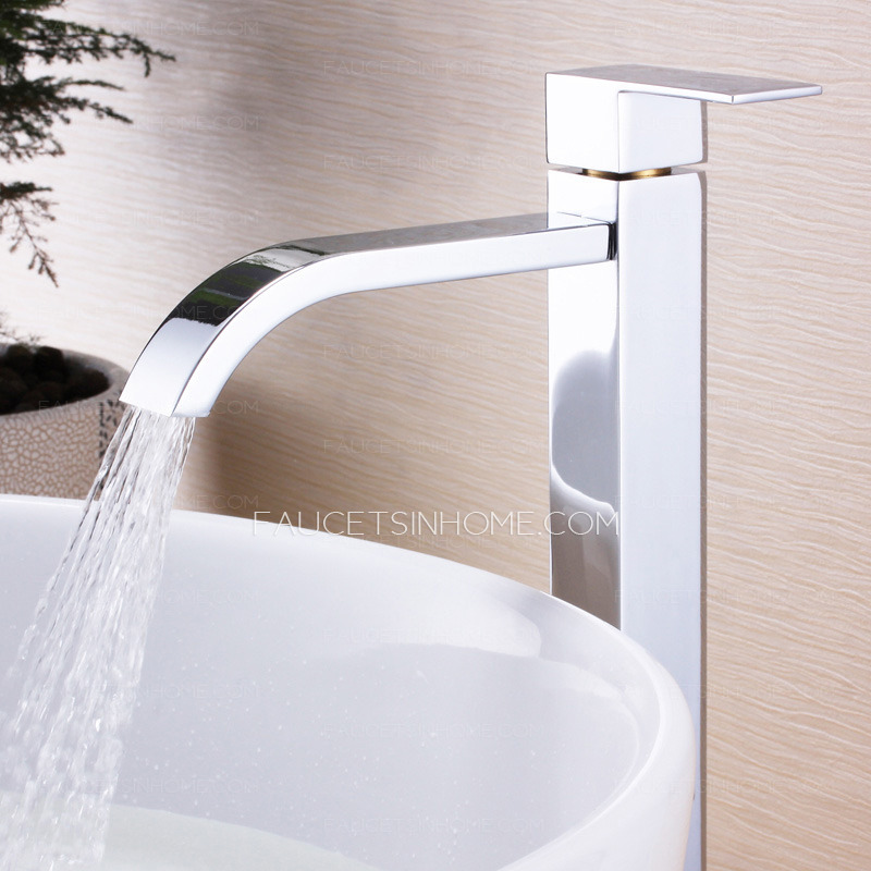 Square shape only cold bathroom faucets wholesale Wholesale bathroom fixtures