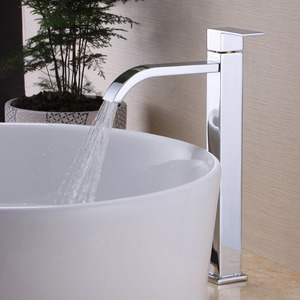 Square Shape Only Cold Bathroom Faucets Wholesale
