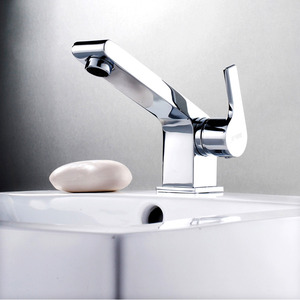 Designed Bathroom And Kitchen Faucets Brass
