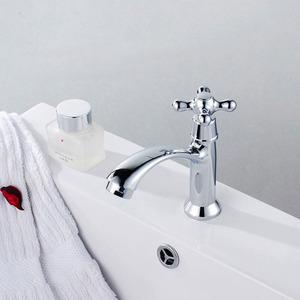 Simple Designed Chrome Bathroom Faucets Modern