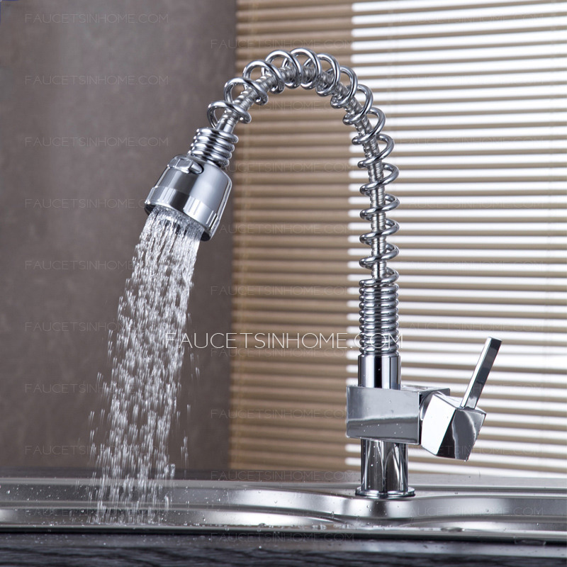 Best Utility Sink Faucet With Sprayer Spring Faucet