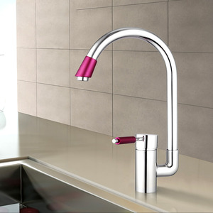 Designer Chrome Finish Recommended Kitchen Faucets