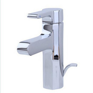 Small Faucet Electroplated Finish Single Handle