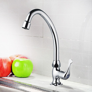 Simple Design Only Cold Water Bar Faucet Useful