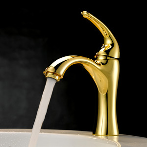 Define Faucet Polished Brass Finish For Bathroom