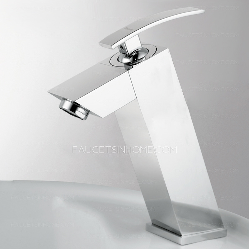 Best Bathroom Faucet Brand : Bathroom Sink Faucets > Modern Square Shape Top Bathroom Faucet Brands ...