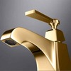 Whole Copper Install New Bathroom Faucet Brass