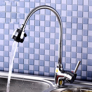 Rotatable Pull Down Faucets Kitchen Hot Cold