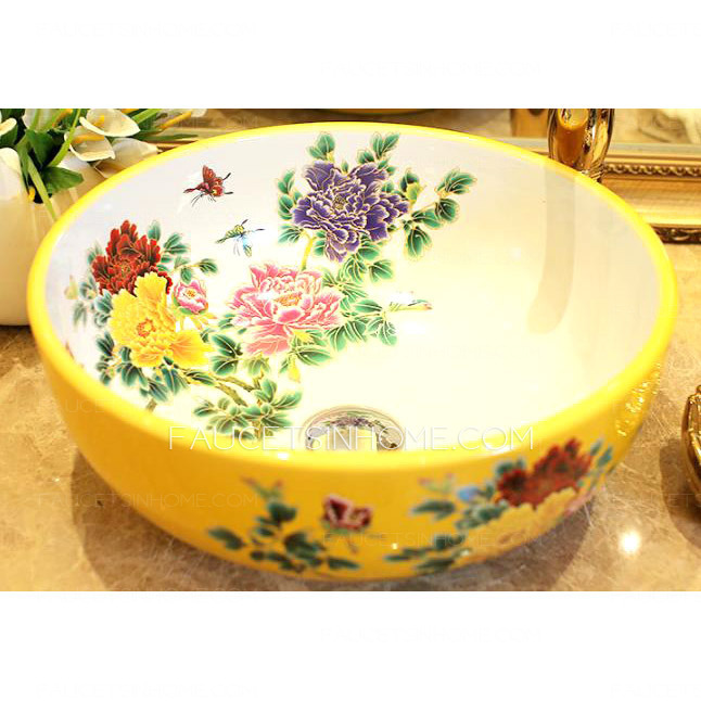 Chinese style vesssel sink