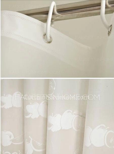 Discount Shower Curtains Navy U0026 White Cotton Stripe
