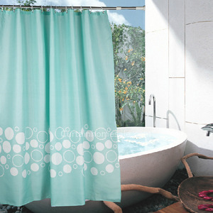 Curtain Online And Toile Print Girls Shower Curtain