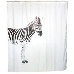 Best Trendy Shower Curtain And Animal Toile Black Color