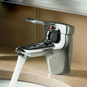 High End Electroplated Bathroom Sink Faucets