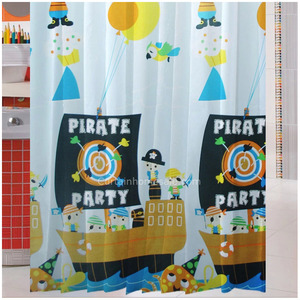 Princess Nautical Print How To Make A Shower Curtain
