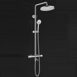 Best Electroplated Brass Thermostatic Exposed Outdoor Shower Faucets