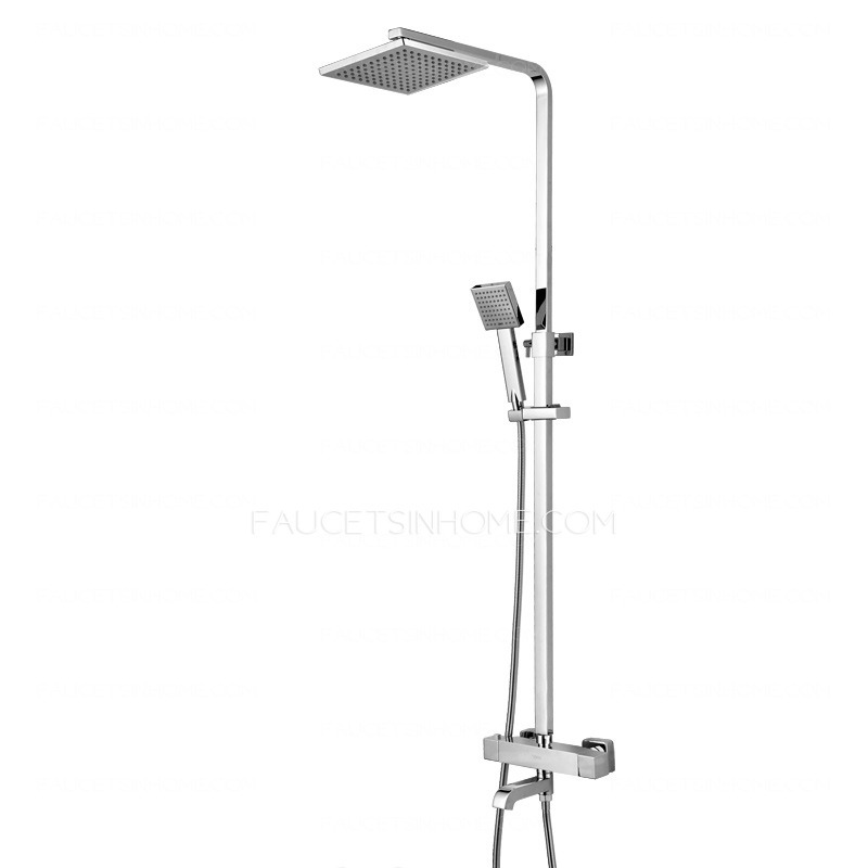Thermostatic  Brass Outdoor Shower