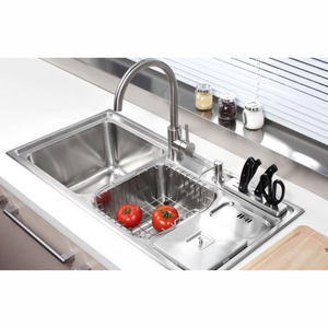 Practical Double Sinks Stainless Steel Kitchen Sinks With Faucet