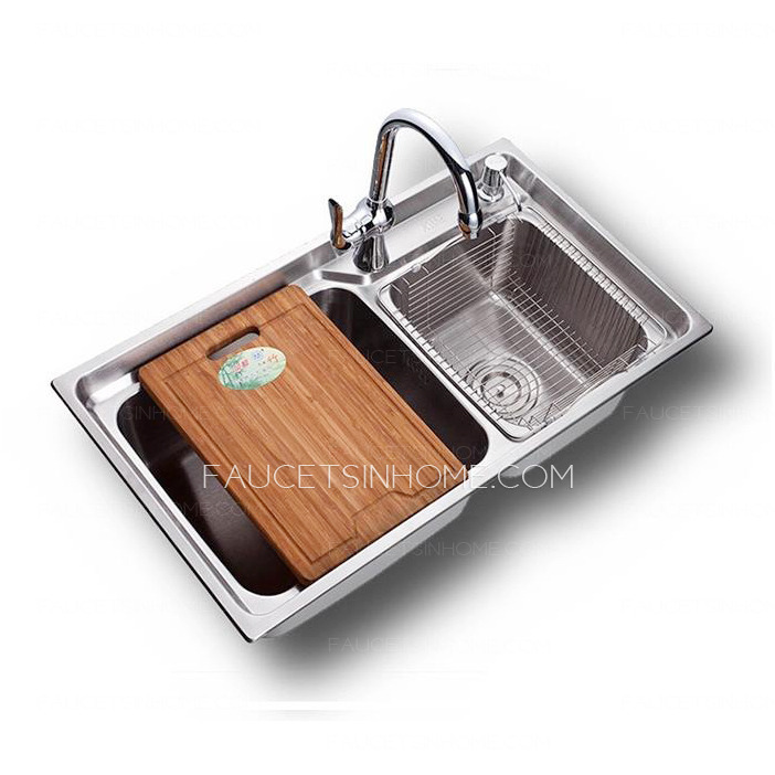 Best Nickel Brushed Stainless Steel Kitchen Sinks Double