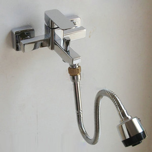 Chrome Brass Extension Tube of Faucet With Spout