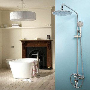 Affordable Chrome Water Efficient Exposed Shower Faucets