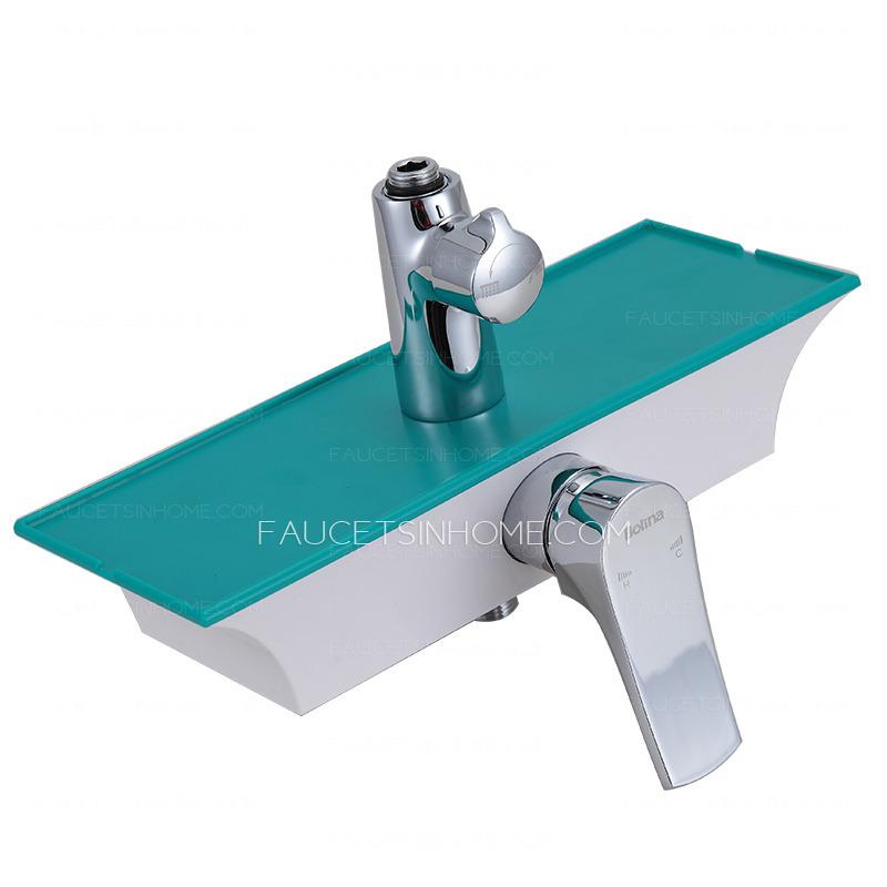 Designer Square Shaped Hand Shower Cheap Shower Fixtures
