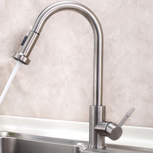 Designer Pull Out Stainless Steel Best Kitchen Faucets