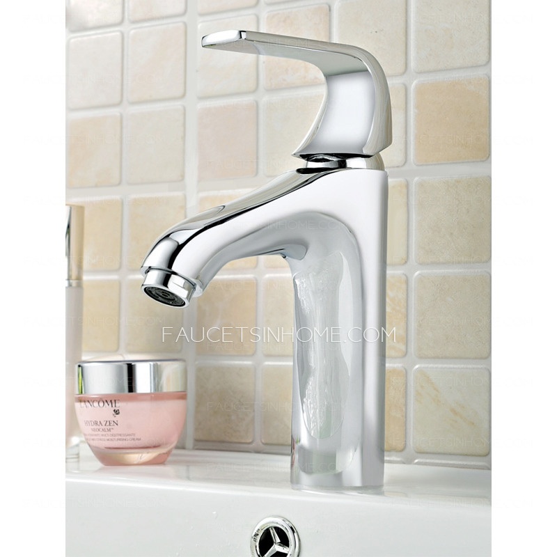 Bathroom Sink Faucets Cheap: Best Single Hole Chrome Cheap Bathroom Faucets