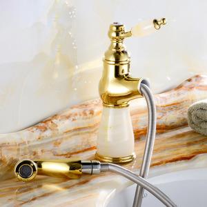 Designer Single Handle Best Pull Down Faucet For Bathroom