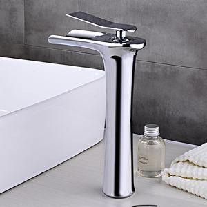 Best Chrome Single Handle Bathroom Waterfall Faucet