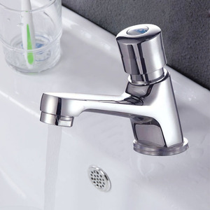 Affordable Vessel Press Type Single Hole Bathroom Faucets