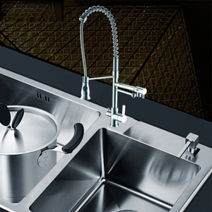 Designer Rotatable Brass Chrome Best Kitchen Faucets For Bedroom