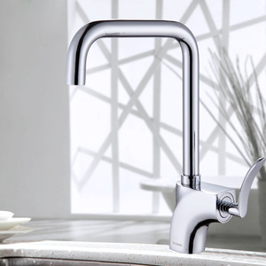 Best One Handle Vessel Rotatable Faucets Kitchen
