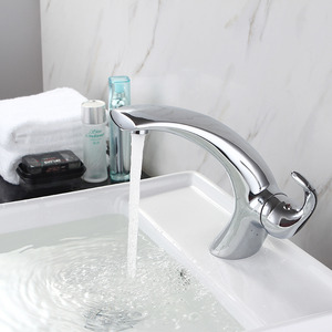 Affordable One Handle Chrome Faucet Sink Bathroom