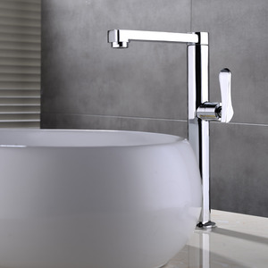High End Chrome Brass Contemporary Faucets Bathroom