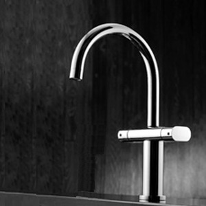 International 2 Handle Kitchen Faucet Rotatable