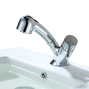 Designer Pull Down Faucets Bathroom One Handle