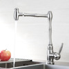 Designer Stainless Steel One Handle Kitchen Water Faucet