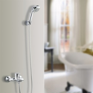 Quality Chrome Hand Shower Modern Shower Faucet