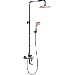 Quality Three-Type Adjustable Chrome Brass Best Outdoor Showers