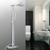 Designer Wall Mount Aluminum Fixture Shower Faucet For Bathroom