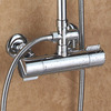 Good Wall Mount Circle Shaped Top Shower Faucet Install
