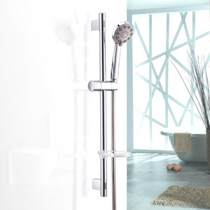 Quality Chrome Wall Mount Simple Shower Faucet For Bathroom