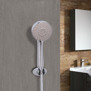Good Quality Chrome Round Shaped Simple Shower Faucet
