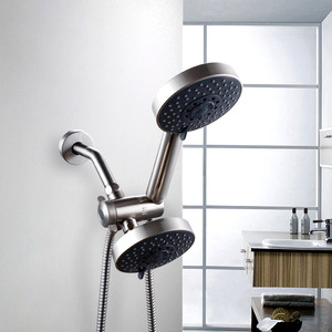 Good Quality Wall Mount Nickel Brushed Bath Shower Fixtures