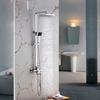 Good Quality Brass Chrome Square Shaped Shower Fixture For Bathroom